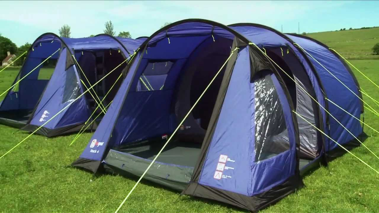 & Hi Gear Rock 4 and 5 Tent - GO Outdoors - YouTube