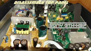 Sony GTK-XB7 - Disassembly Top panel 🔨🔩🔧