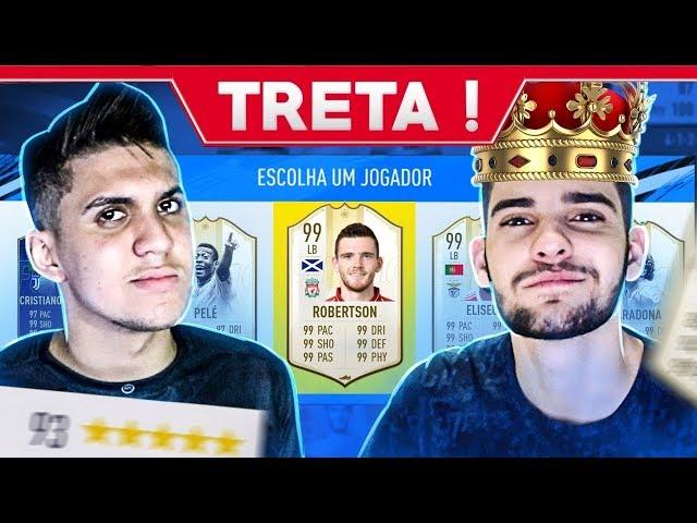 FUT DRAFT 193!! A TRETA ENTRE CAMPOS e RICARDO DIAS !! FIFA 19