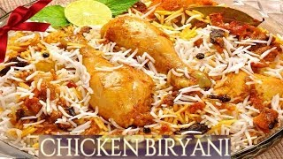 Chicken Biryani Recipe In Tamil-How To Make Chicken Biryani-Chicken Dum Biryani-Hyderabadi Biryani