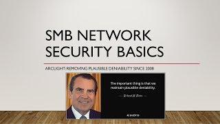 TMT 0014 SMB Network Security Basics