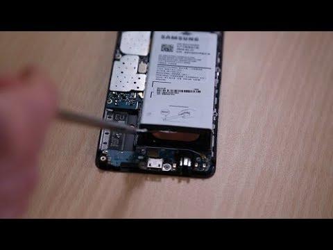 Samsung Galaxy A3 (2016) Akkutausch - Anleitung