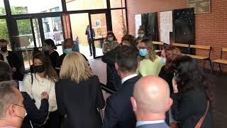 Marseille : Brigitte Macron en visite à la faculté de Droit