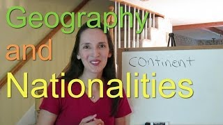 Geography and Nationalities - English Language Notes 3