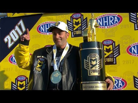 Eddie Krawiec is the 2017 Mello Yello Pro Stock Motorcycle World Champion