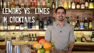 The Difference between Lemons and Limes in Cocktails