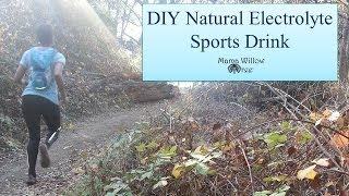 DIY Natural Electrolyte Sports Drink