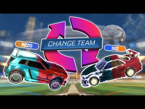 Rocket League 1v1 except we can swap teams at anytime...