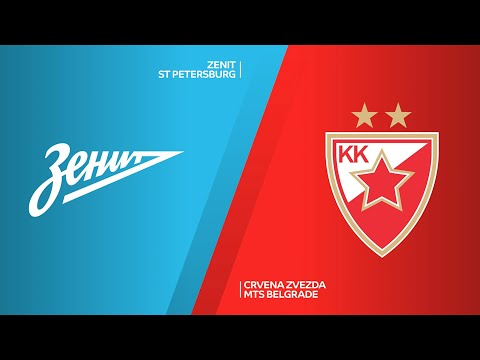 Zenit St Petersburg - Crvena Zvezda mts Belgrade Highlights | EuroLeague, RS Round 16