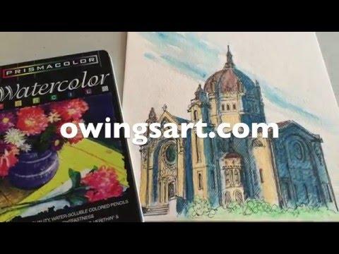 Prismacolor Watercolor Pencils