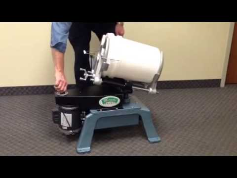 Miracle paint rejuvenator m 5 mixer youtube for 5 gallon paint mixer