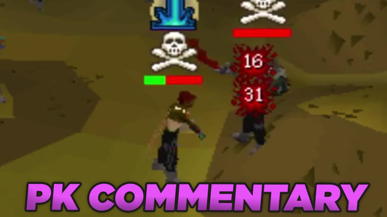 OSRS PK Commentary - LXL 60 Attack pure pking - Most Popular