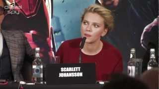 'The Avengers' Scarlett Johansson On Joss Whedon 'He's Gender Blind'