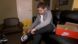 13-Year-Old Rescued From Sewer Gets New Pair of Sneakers
