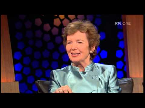 Mary Robinson talks about why she ran for the presidency
