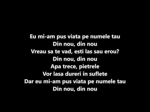 Miss Mary feat. Uddi - Pe numele tau (Versuri / Lyrics )HD
