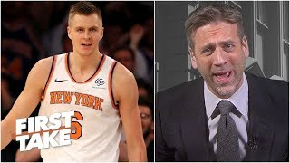 The Knicks trading Kristaps Porzingis is 'utter nonsense' - Max Kellerman | First Take