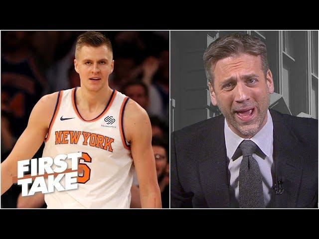 The Knicks trading Kristaps Porzingis is 'utter nonsense' - Max Kellerman | First Take