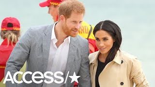 Meghan Markle Gets Gifted A Tiara & Talks Baby Names On Royal Tour! | Access