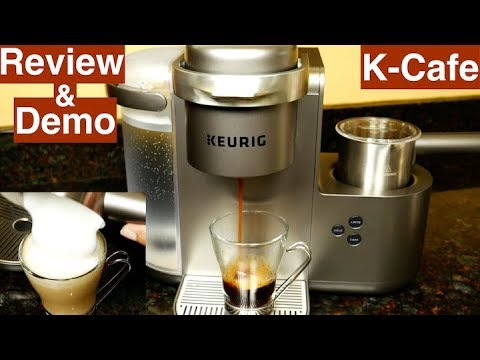 Keurig K Cafe Review And Demo Youtube