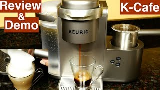 Keurig K-Cafe Review and Demo