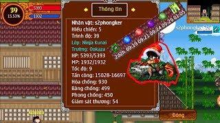 Ninja School Online : Full Trang Bị Cho #S2phongker Cân Hang Động 3x