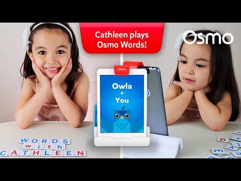 Osmonaut Cathleen Plays Osmo Words!