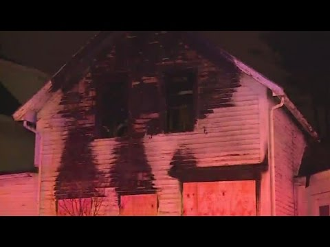 House fire in Taunton