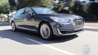 2017 Genesis G90 Review and Road Test