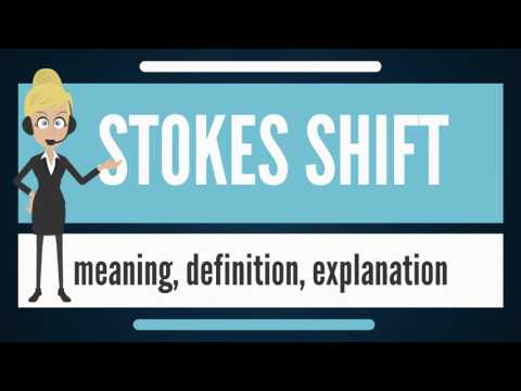 What is STOKES SHIFT? What does STOKES SHIFT mean? STOKES SHIFT meaning, definition & explanation