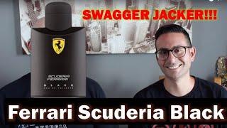 SWAGGER JACKER - Ferrari Scuderia Black with Redolessence