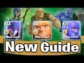 13 Witch+ 17 Bowler+ 7 Giant | New Guide Ground Army 3 Star Th11 Max Level | New Th11 War Style 2018