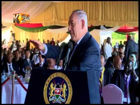 Benjamin Netanyahu attends state luncheon
