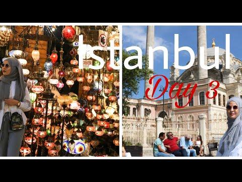 Istanbul Vlog Day 3 | Ortaköy, Galata Kulesi, Kapalı çarşı | Tugba Kar