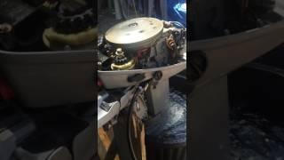 moteur bateau Johnson 9.9