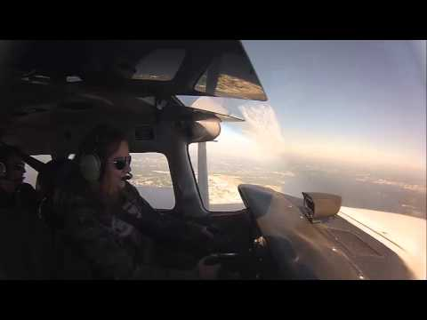 Aleara Ferguson's Fisrt Flight. At Herlong Airport, Jacksonville, Fl.
