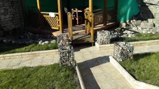 Благоустройство небольшого двора. Тротуарная плитка
