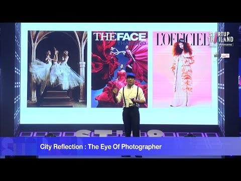 City Reflection : The Eye Of Photographer