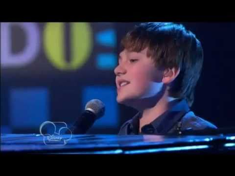 Greyson Chance performs in So Random Disney Channel