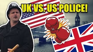 UK vs. US Policing: To Arm or Not to Arm