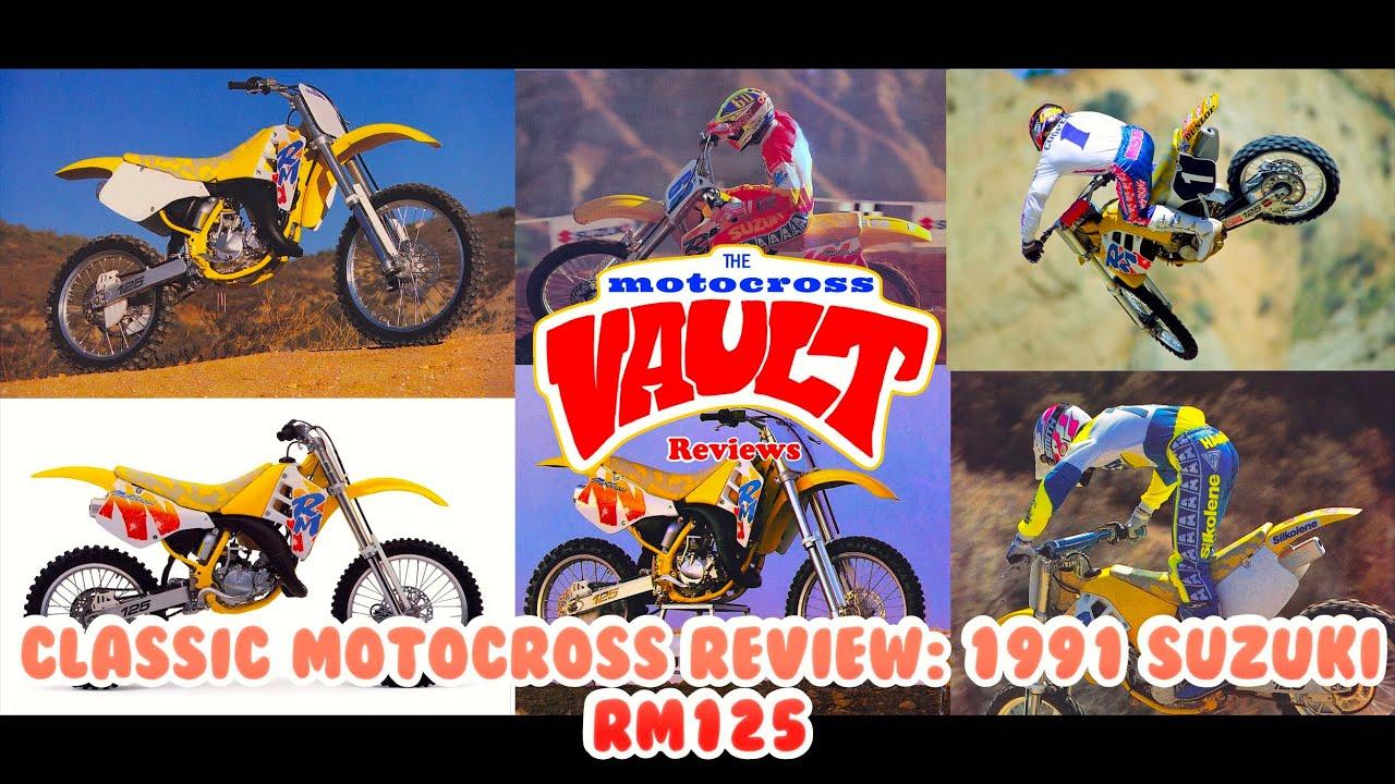 Classic Motocross Review: 1991 Suzuki RM125