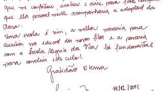Carta de uma mamãe para nossa escola