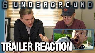'6 Underground' Trailer Reaction   Office Premieres   The Ringer