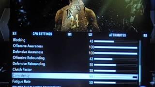 NBA 2K12 Problems Part 2 & Game Sliders