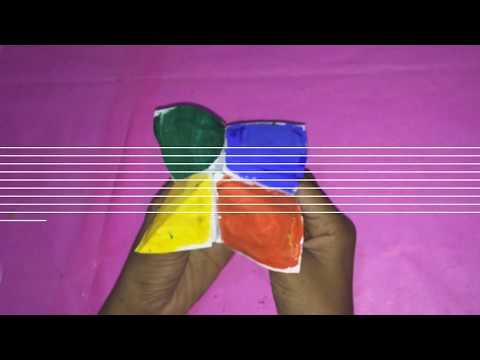 Emoji Diy Paper Magic😻⚡ Card | Face Changer Tutorial For🔥💥 Kid | Paper Magic Trick