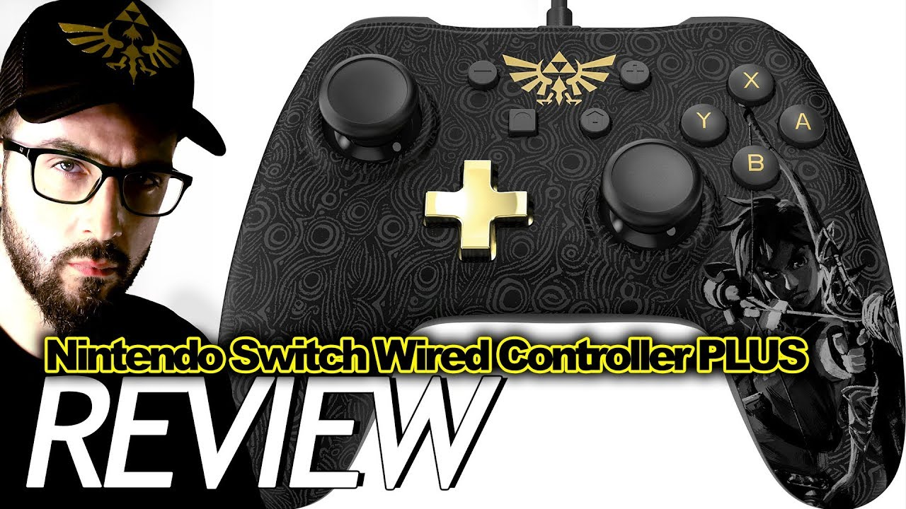 PowerA Wired Controller Plus Review For Nintendo Switch | JKB - YouTube
