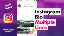 How to Edit Instagram Bio - Multiple Lines Tips & Tricks