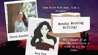 Magical Monday Writing, with Dana, Oink & Friends!