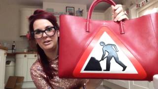 4112666681f5 Review of anya hindmarch maxi featherweight ebury tote bag in diversion  roadwork design fabulous