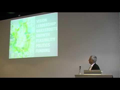 Atlanta Beltline - Lecture by Ryan Gravel (October 2011, Delft)